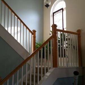 View of stairs to 2nd floor