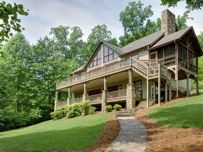 Photo for Beautiful 2.5 acre Waterfront Retreat pick your week for 2018 now!