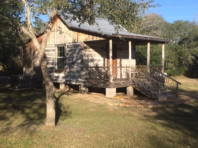 Photo for Secluded Log Cabin for Two in La Grange TX