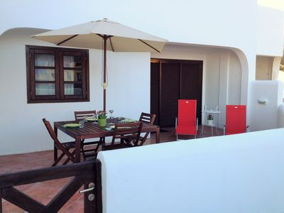 Photo for LUXURIOUS BUNGALOW WITH SEA IN LUXURY GATED Costa Adeje