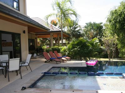 Photo for Spacious 3 Bedroom Luxury Pool Villa