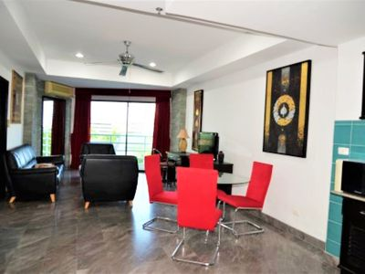 Photo for Sea view 4th floor 1 bed condo at View Talay 2