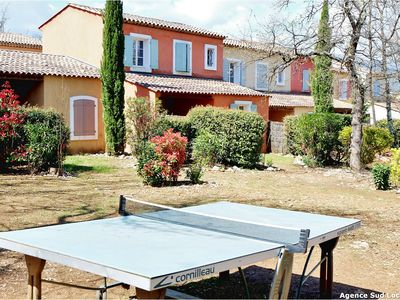 Photo for House 6/8 pers spacious, in field of Fayence, swimming pool, tennis
