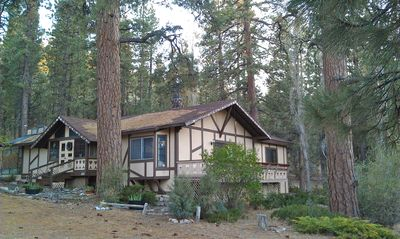 Photo for FIND TRUE SECLUSION IN OUR PEACEFUL CHALET. 5 ACRES, TRAILS, TREES & SPA