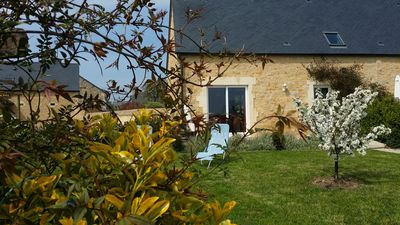 Photo for 2BR Cottage Vacation Rental in Juaye-Mondaye, Normandie
