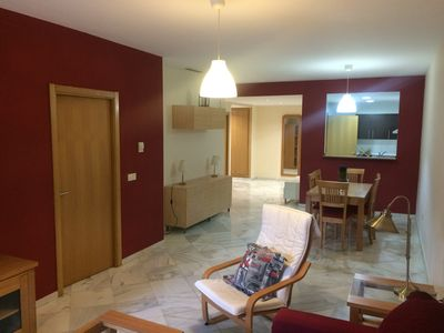 Photo for Beautiful apartment in front line beach in Marbella