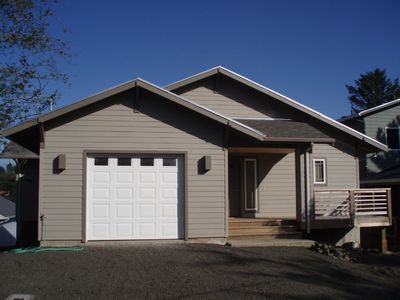 Photo for Spacious, charming beach retreat close to Netarts Bay. Great for families!