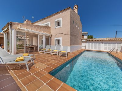 Photo for Casa Juana - Cosy, Very Light Villa with Private Pool at only 500 Meters from Puerto de Pollensa and 2 km from the Beach ! - Free WiFi