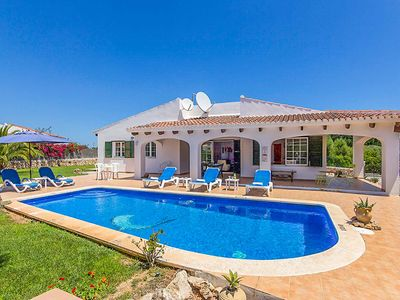 Photo for Casa Tortuga - villa in quiet location but close to Binibeca beach - pool & WiFi