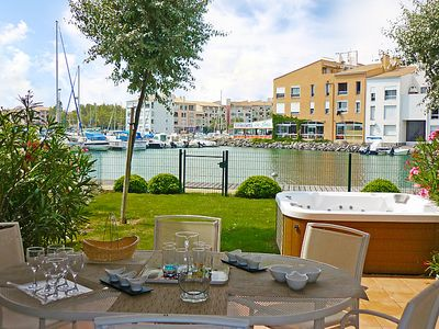 Photo for Vacation home Île St Martin in Cap d'Agde - 6 persons, 3 bedrooms