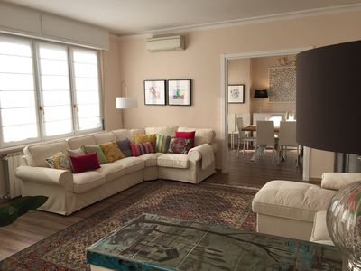 Photo for Fabulous 200sqm bright, new apartment walking distance to Duomo and city centre