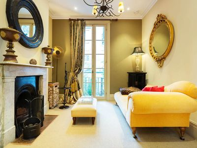 Photo for Three bedroom townhouse near the river and Battersea Park, Sleeps 8 (Veeve)
