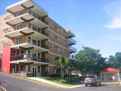 2 BR 2 BATH CONDO with 2 parking spaces  in gated community across from restaurants