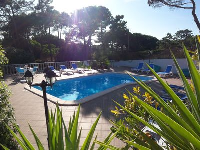 Photo for Cottage in Praia das Maçãs with a heated swimming pool