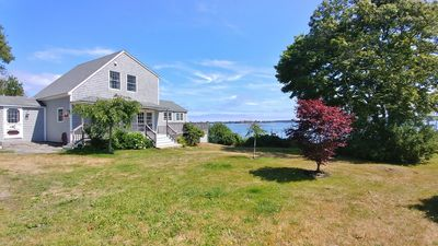 Photo for Enjoy Stunning Easterly Views over Casco Bay from this 3BR, 2BA Waterfront Home