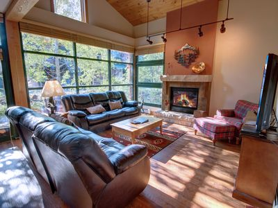 Photo for Townhouse w/ Private Garage, Laundry, Grill on Patio! 5 min Shuttle ride to Slopes