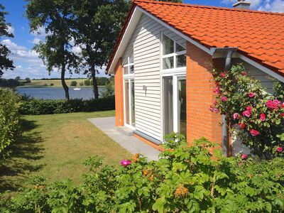 Photo for Cottage directly on the Schleiufer | Sauna | Whirlpool | Fireplace | Free Wi-Fi