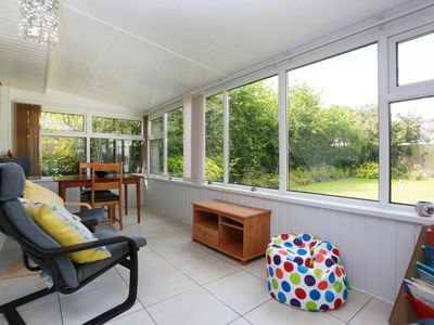 Photo for BOURNECOAST: LOVELY BUNGALOW-CONSERVATORY, GARDEN, SUMMER HOUSE & PARKING-HB6251