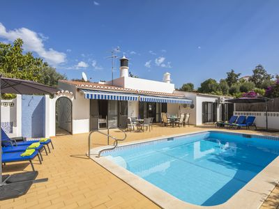 Photo for Casa Tamaris - little paradise! Heated pool, priv. Garden, 3 bedrooms