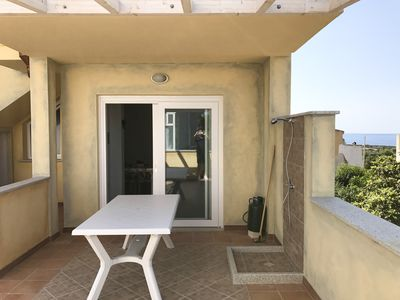 Photo for beautiful newly built apartment with sea view garden
