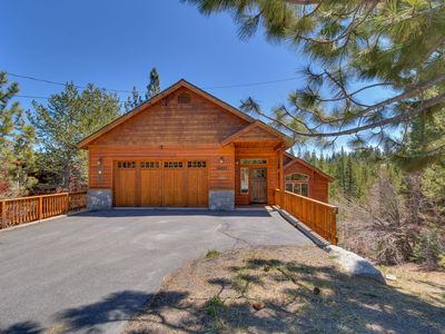 Photo for NEW LISTING - 4 BR 3.5 BA Luxury Home in Tahoe Donner with Hot Tub & Dogs OK
