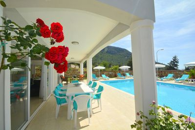 Luxury Villa, with family suite, with full sky TV, & free WIFI  Sleeps 10 -  Fethiye