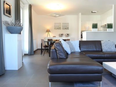 Photo for Duinhof I-07 * Lovely spacious and modern furnished apartment, 100m from the sea