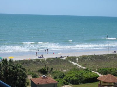 Your view from the balcony of our Forest Dunes Condo.