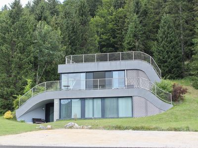 Photo for Architect house panoramic view Les Rousses Jura France