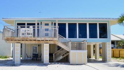 Photo for Charming 2-Bed House Across from the Beach