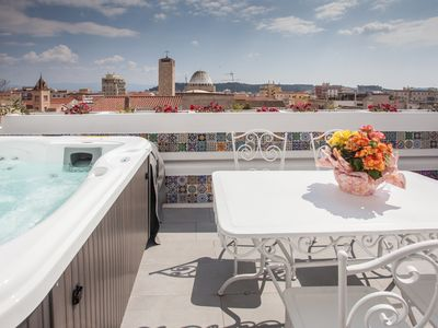 Photo for Bea's Terrace ❤️ Charming apartment in the city center