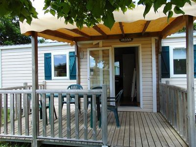 Photo for Camping Beauchêne *** - Mobil Home Comfort Plus 3 Rooms 4/6 People