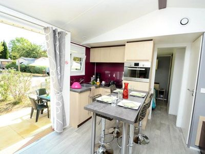Photo for Camping Domaine Du Golfe De St Tropez *** - Mobile home Athena Deluxe 3 Rooms 6 People
