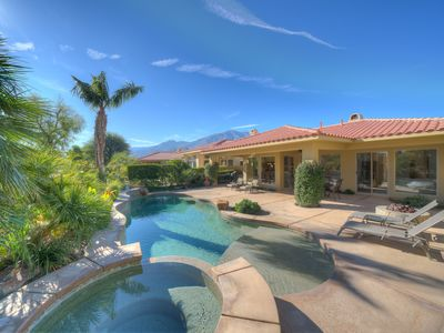 Photo for This backyard is amazing!  Truly a PGA West Desert Oasis!