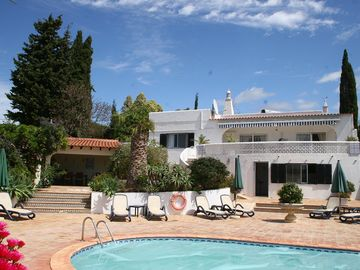 Spacious Villa with Private Pool, secluded terraces and a new Games room.