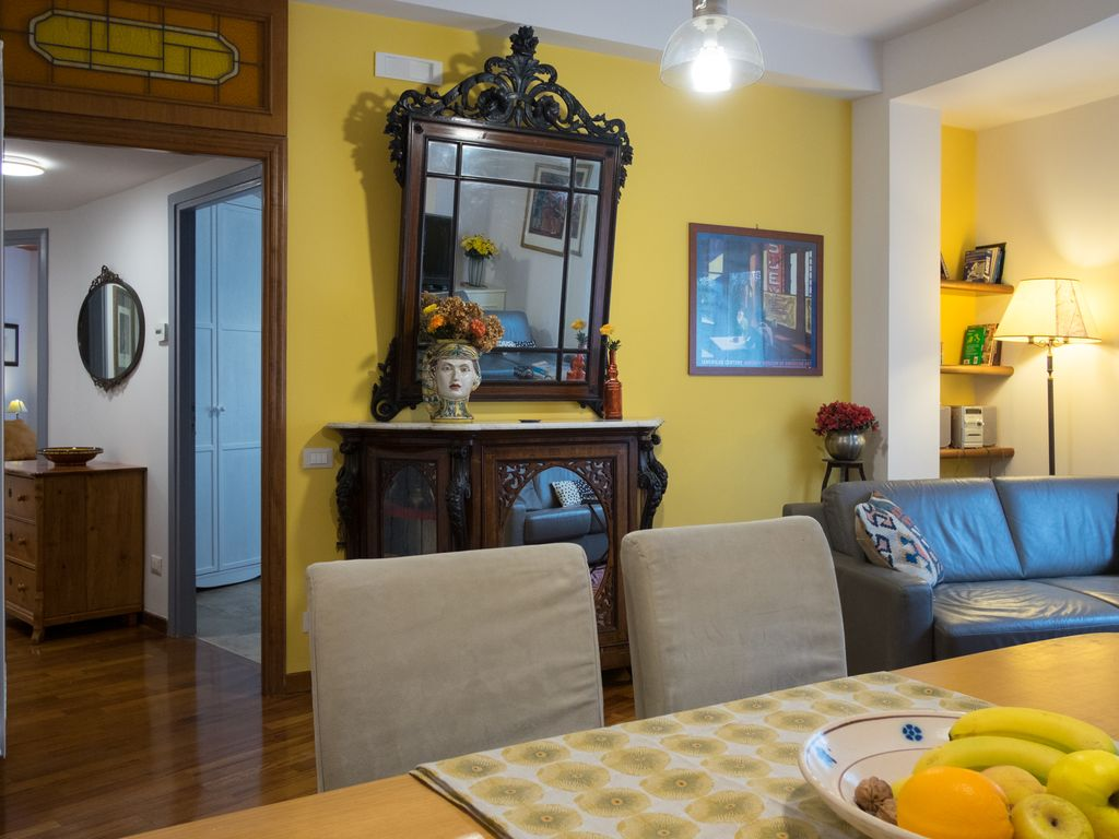 Comfortable Apartment In Trastevere The Historic Center Of Rome
