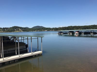 Photo for Luxury Lakeside Townhome on Lake Chatuge near Hiawassee Georgia