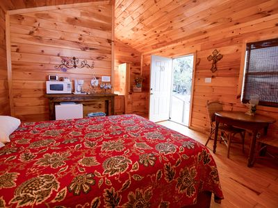 Photo for Quaint Cabin nestled quietly in a rural setting