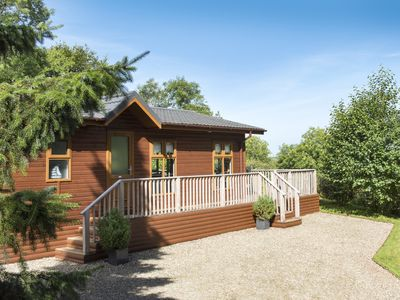 Photo for FIRS LODGE, luxury holiday cottage in Narberth, Ref 21009