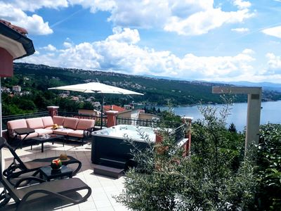Photo for Luxury Three-Bedroom Apartment***** with amazing overlook at the sea