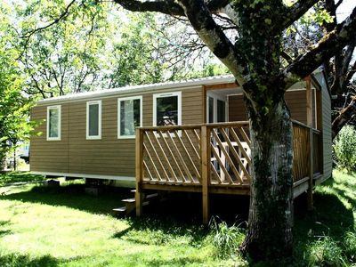 Photo for Camping Au Soleil d'Oc **** - Cottage Loggia 4 Rooms 4/6 People