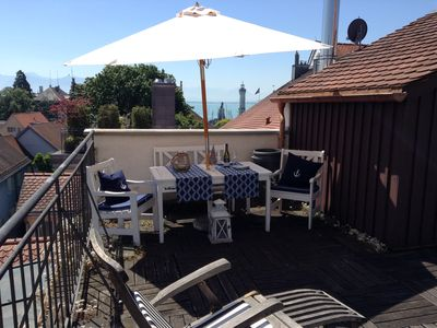 Photo for Cozy, comfortable, 1 Bedrm,  Lvrm, Full Kit, Rooftop Terrace w. lakeview, 2 Pers