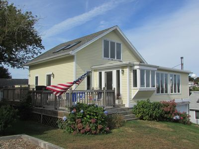 Photo for REDUCED! Charming 3 bedroom cottage in private beach community