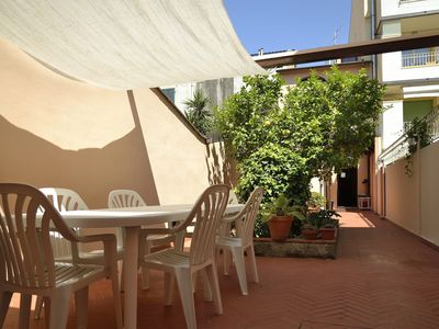 Photo for House Viareggio center, with a large courtyard, a few steps from the sea