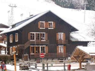 Photo for Morzine, apartment with character in wooden chalet at the foot of Pleney slopes