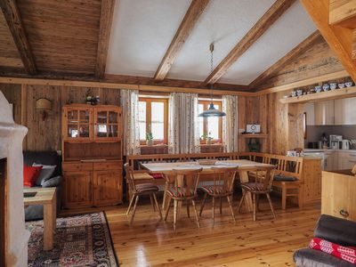 Photo for Cozy hut in a quiet location with a view of the mountains and close to the lake