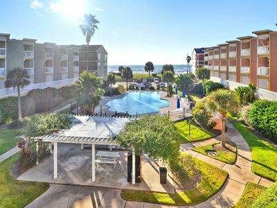 Photo for Stay with us at the beautiful Victorian 5204-Walkin' on Sunshine - views of both beach and pool!