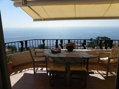 Photo for Rental nice 2 bedroom apartment amazing view over the bay of Cannes