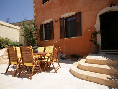 Photo for Experience Crete In A Guest House Renovated w/Pool, 4 km from Beach/Restaurants