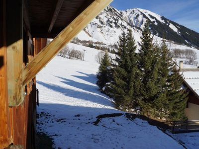 Photo for Apartment 6 beds, 50m from the ski slopes, mountain view